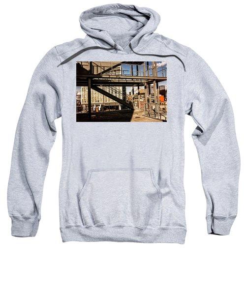 Whitney Terrace Grid Sweatshirt