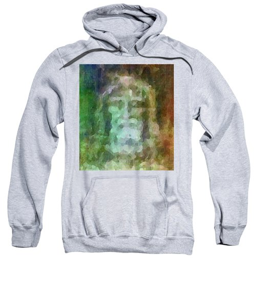 Who Do Men Say That I Am - The Shroud Sweatshirt