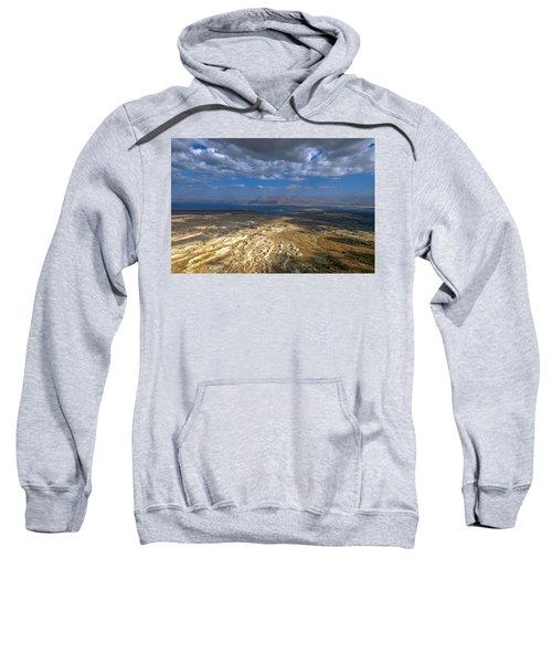 Wide View From Masada Sweatshirt