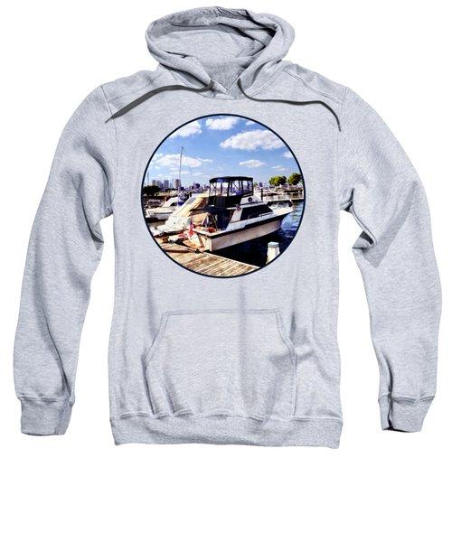 Wiggins Park Marina Sweatshirt by Susan Savad