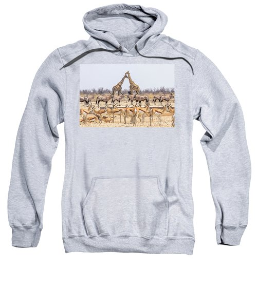 Wild Animals Pyramid Sweatshirt