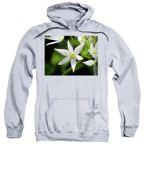 Wild Garlic Flower Sweatshirt