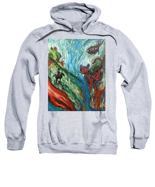 Wild Periscope Collaboration Sweatshirt