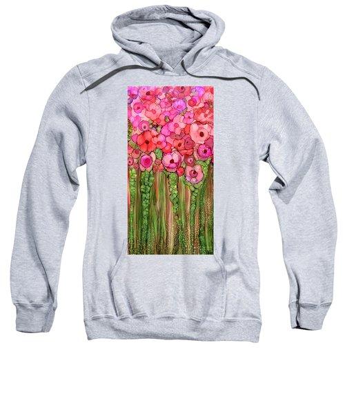 Wild Poppy Garden - Pink Sweatshirt