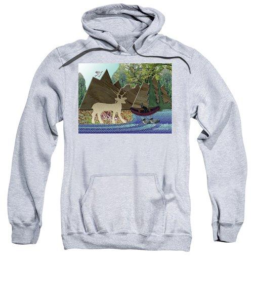 Wild Rural Animals Sweatshirt