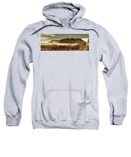 Wild West Mountain Panorama Sweatshirt