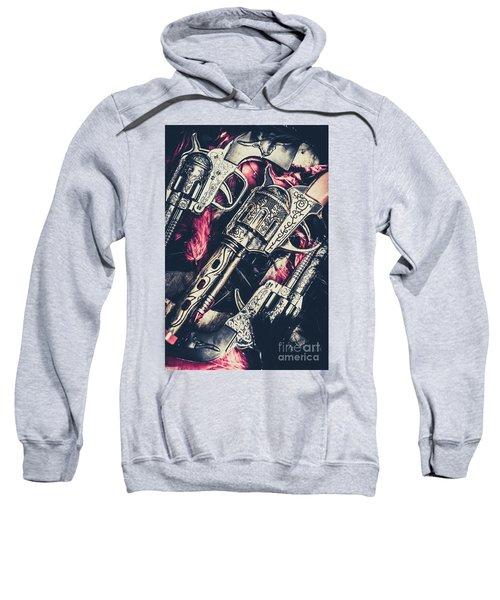 Wild West Weapons  Sweatshirt