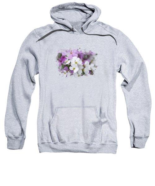 Wildflower Watercolor Art Sweatshirt