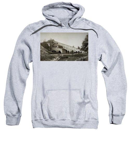 Wilkes Barre Twp Pa Empire Number 5 Coal Breaker 1880 Lehigh And Wb Coal Co. Sweatshirt