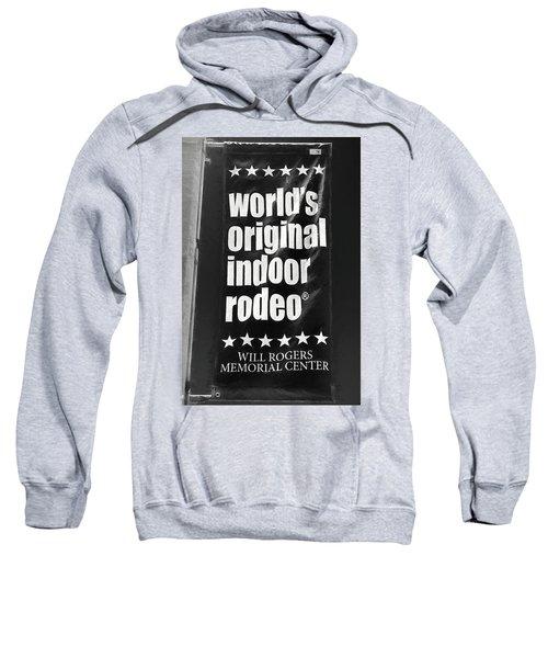 Will Rogers Rodeo Bw Sweatshirt