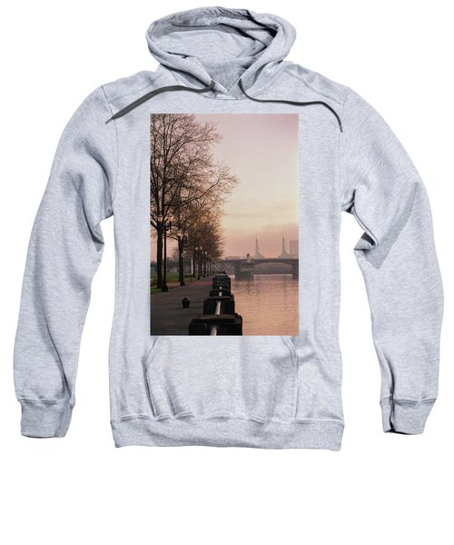 Willamette Riverfront, Portland, Oregon Sweatshirt