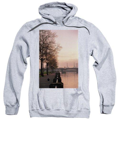 Willamette Riverfront, Portland, Oregon Sweatshirt