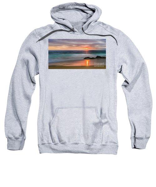 Windansea Beach At Sunset Sweatshirt
