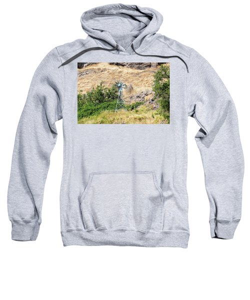 Windmill Aerator For Ponds And Lakes Sweatshirt
