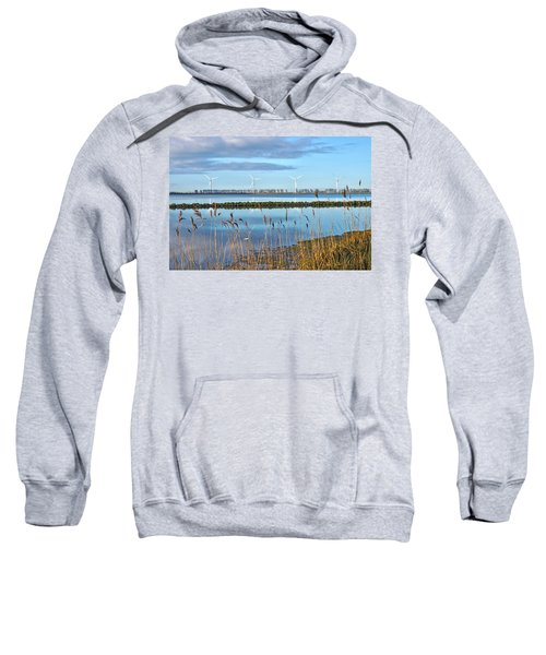 Windmills On A Windless Morning Sweatshirt