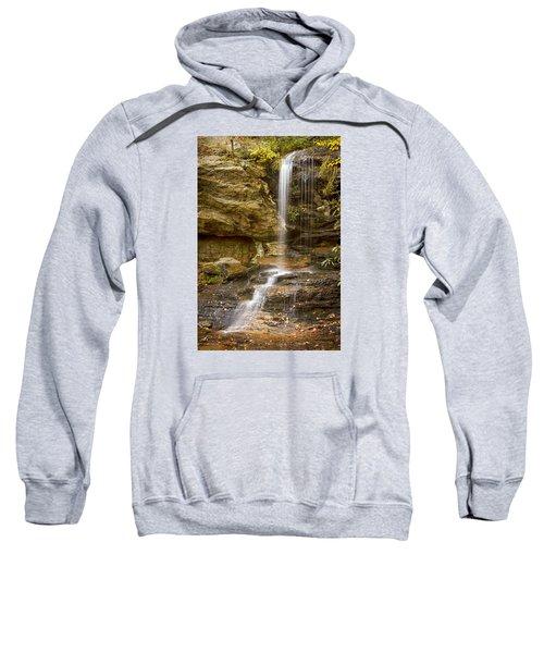 Window Falls In Hanging Rock State Park Sweatshirt