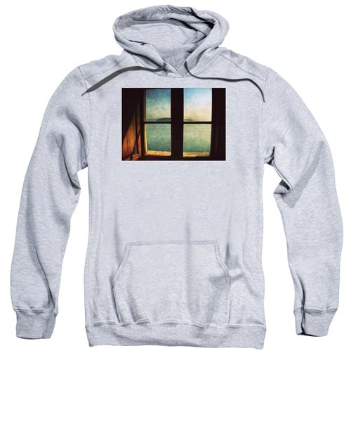 Window Overlooking The Sea Sweatshirt