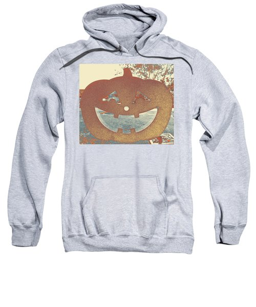 Window Pumpkin #1 Sweatshirt