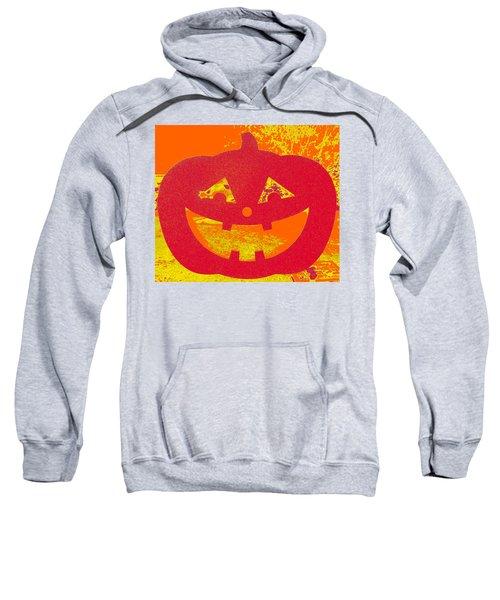 Window Pumpkin #4 Sweatshirt