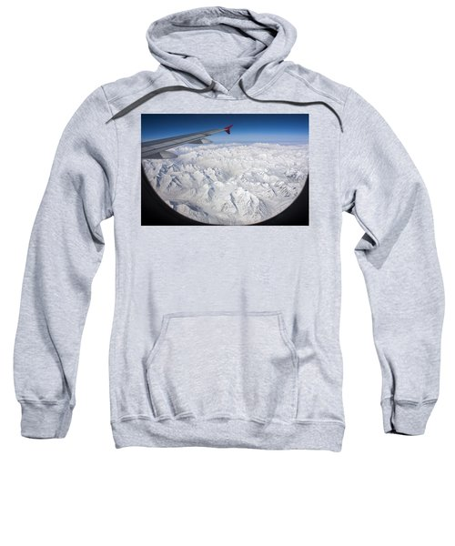 Window To Himalaya Sweatshirt