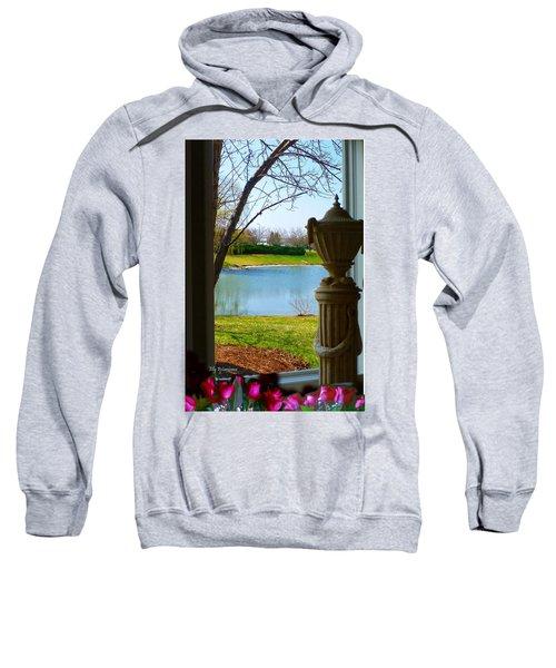 Window View Pond Sweatshirt