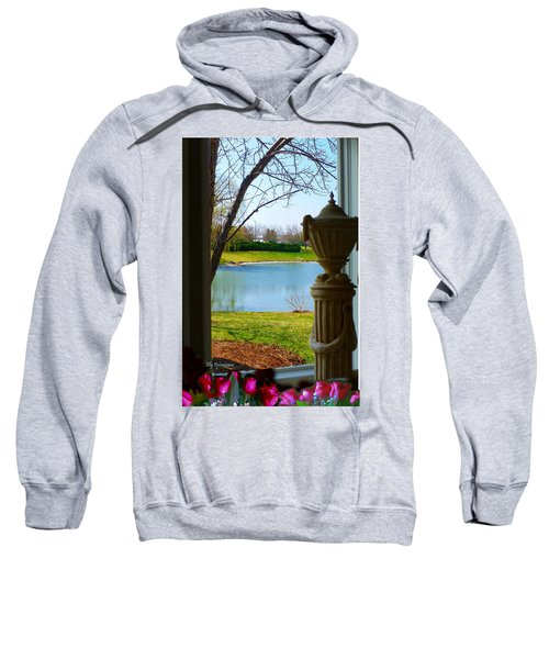 Window View Pond Sweatshirt