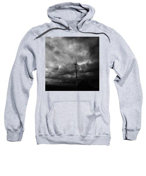 Windradwindig.  #windrad #monochrome Sweatshirt