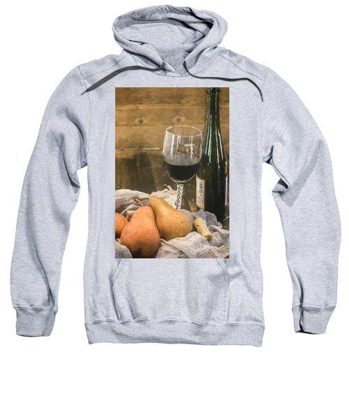 Wine And Pears Sweatshirt