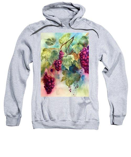 Wine Grapes Sweatshirt