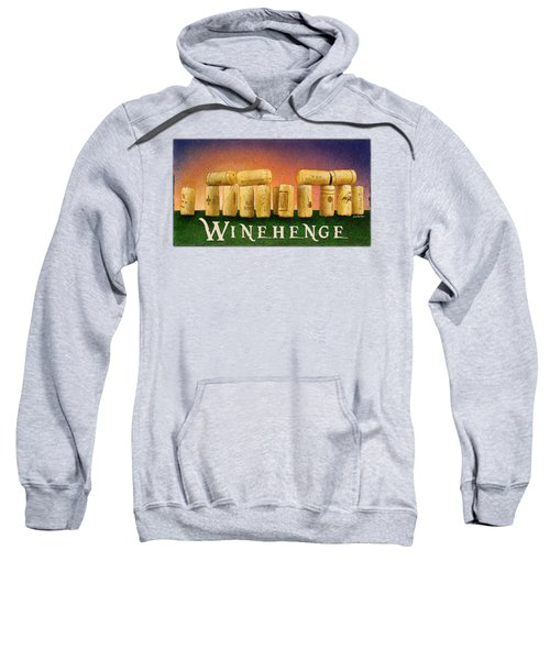 Winehenge Sweatshirt by Will Bullas