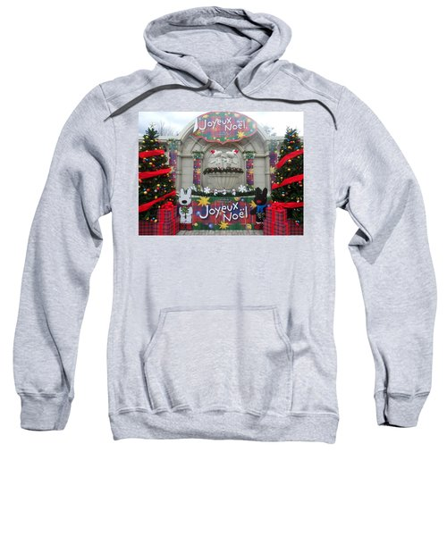 Winter Amusement Park Sweatshirt