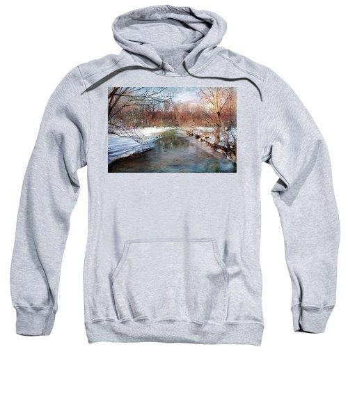 Winter At Cooper River Sweatshirt