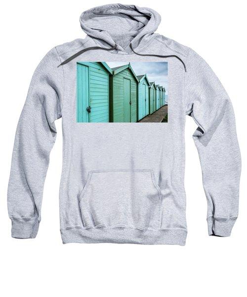 Winter Beach Huts IIi Sweatshirt