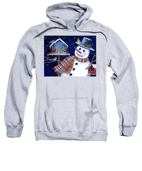 Winter Birds Delight Sweatshirt