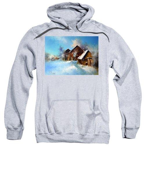Winter Cortyard Sweatshirt