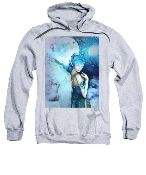 Winter Fairy In The Mist Sweatshirt