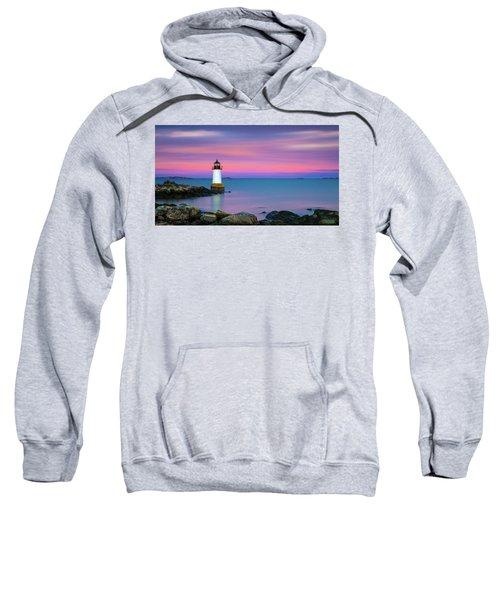 Winter Island Light 1 Sweatshirt