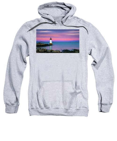 Winter Island Light 1 Sweatshirt