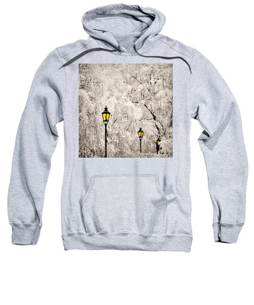 Winter Lanterns Sweatshirt