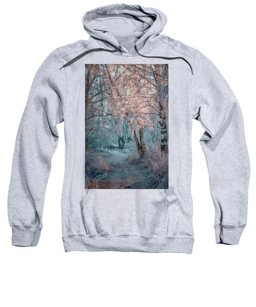 Winter Path #h1 Sweatshirt