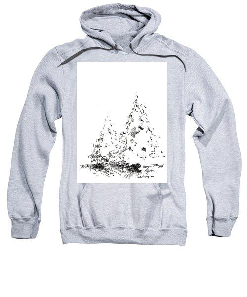 Winter Trees 1 - 2016 Sweatshirt