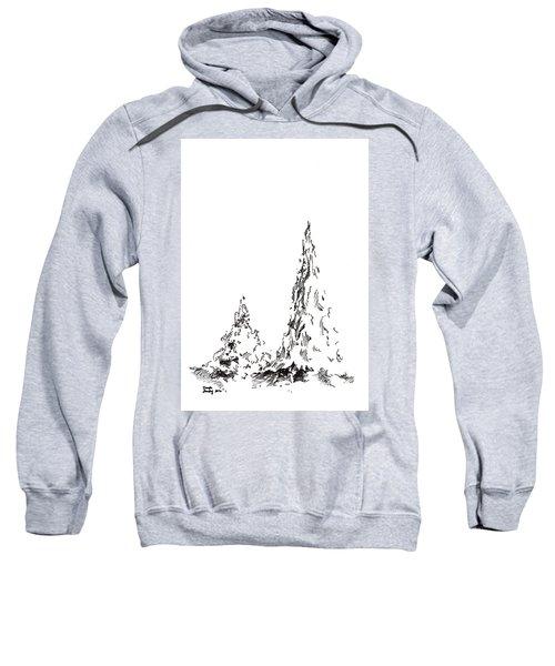 Winter Trees 2 - 2016 Sweatshirt