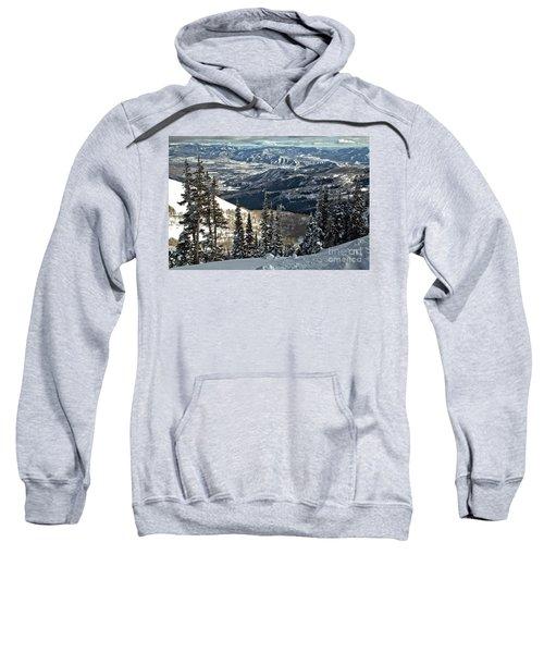 Winter Views At Brighton Sweatshirt