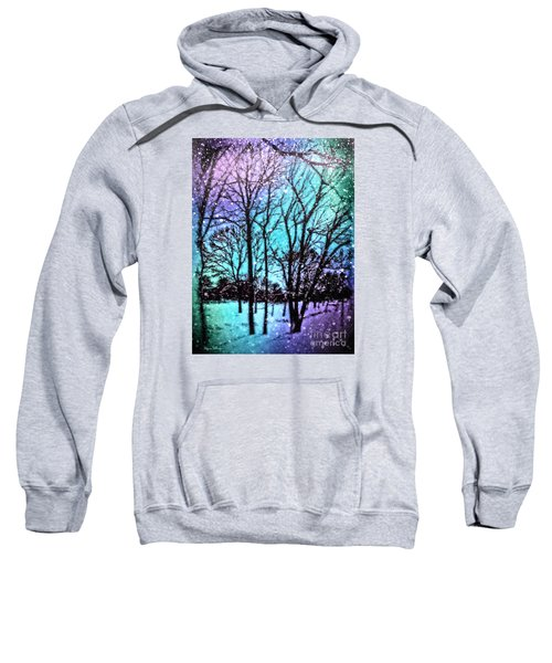 Winter Wonderland Painting Sweatshirt