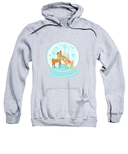 Winter Wonderland Snow Globe Sweatshirt