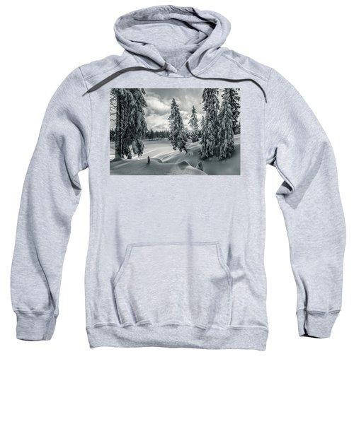 Winter Wonderland Harz In Monochrome Sweatshirt