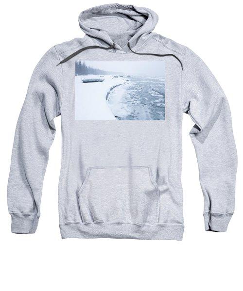 Wintry Coast Sweatshirt