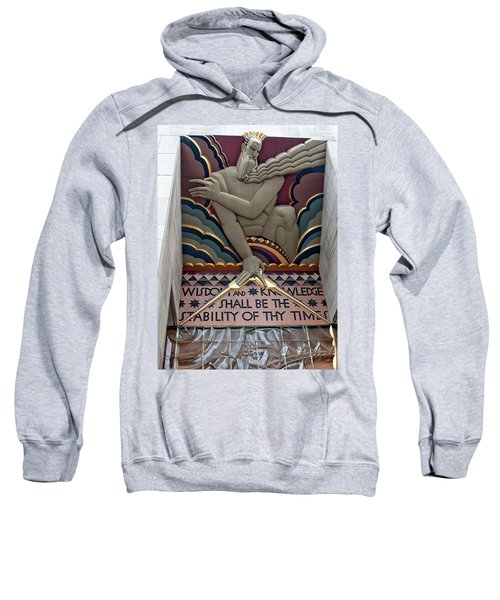 Wisdom Lords Over Rockefeller Center Sweatshirt