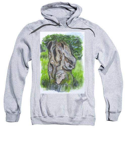 Wisdom Olive Tree Sweatshirt