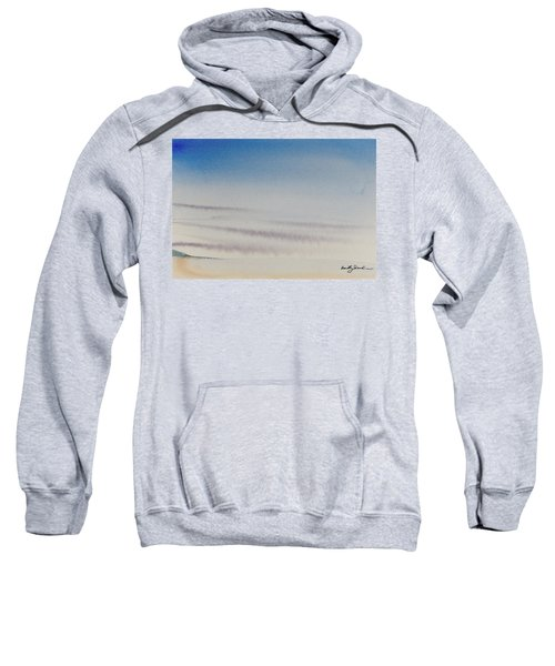 Wisps Of Clouds At Sunset Over A Calm Bay Sweatshirt